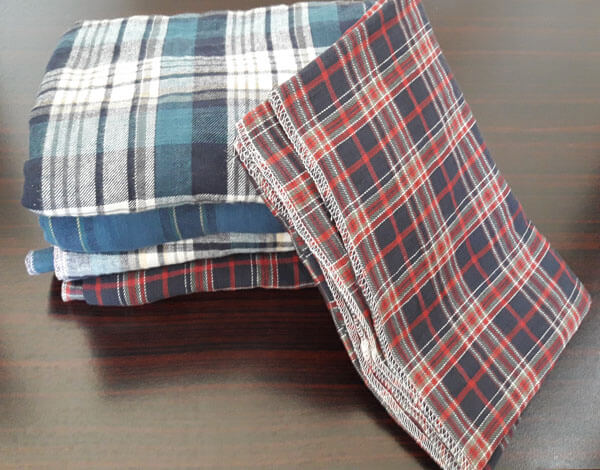 New Flannel Rags with over locking